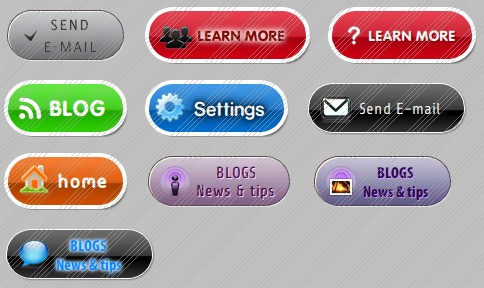 Vector white blank button app icon template free vector in adobe.