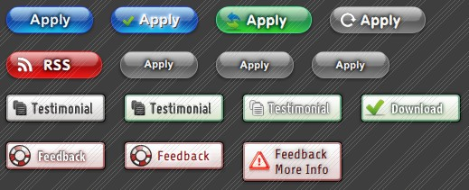 Html download icon on background. Html button. Royalty free.