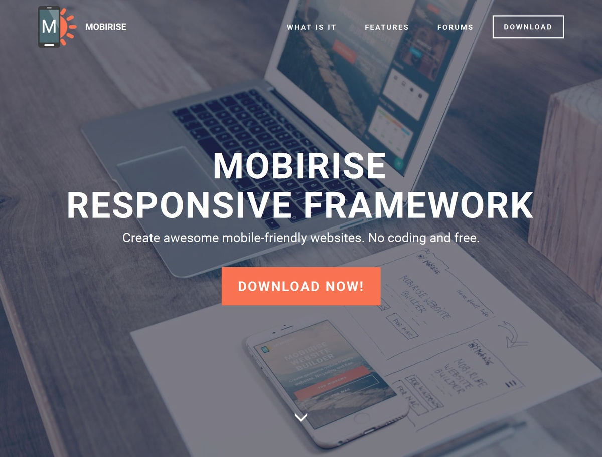 Bootstrap Responsive Website Template
