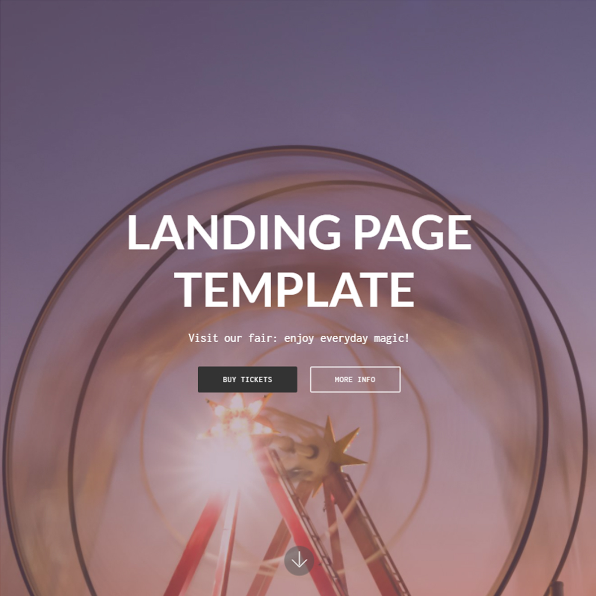 Free Download Bootstrap Landing Page Templates