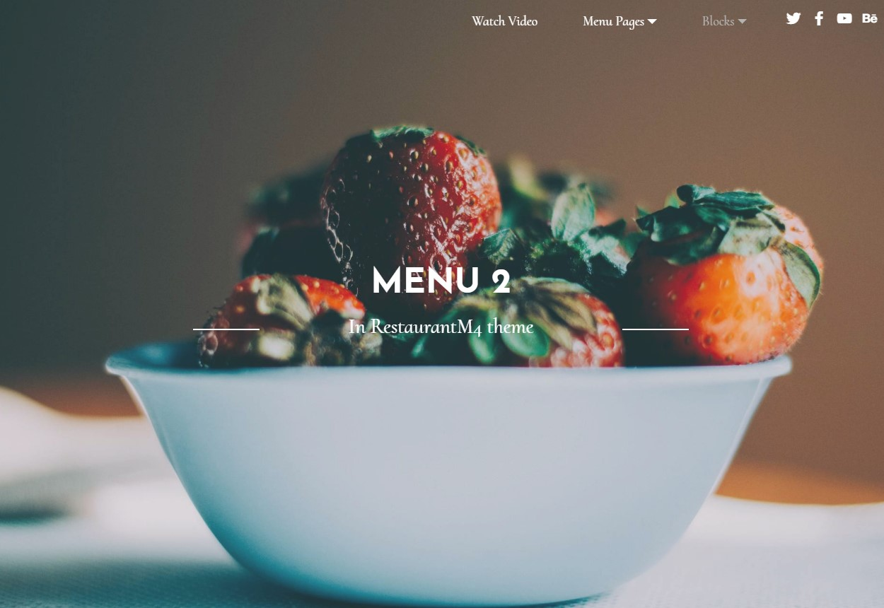 Best 41 brand new and free responsive templates compilation html restaurant maxwellsz