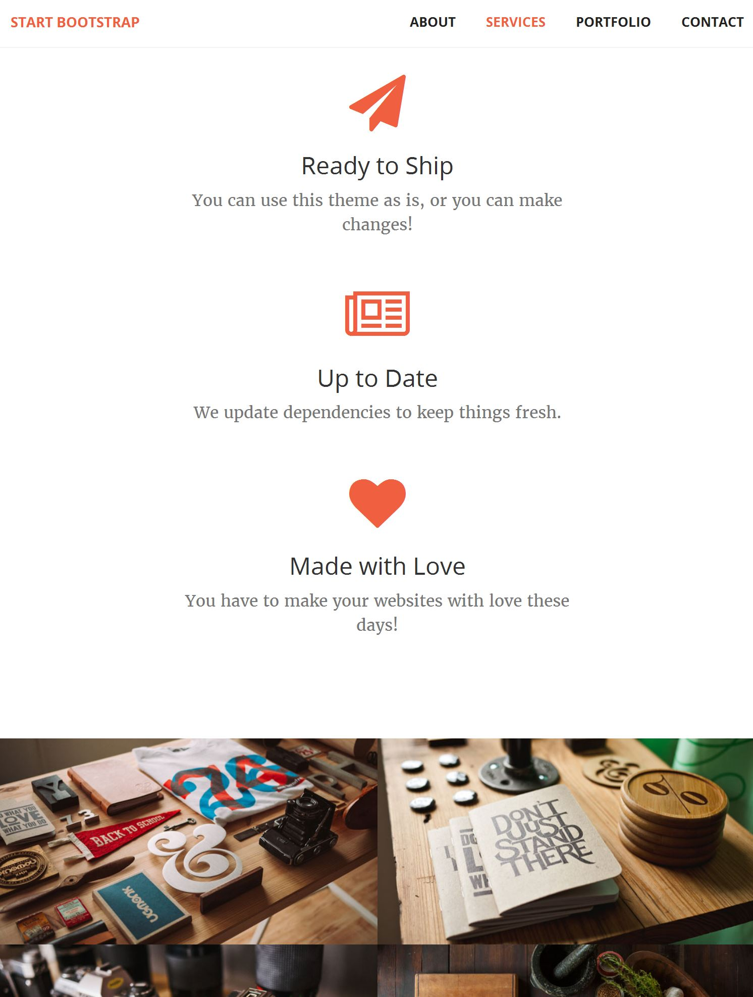 Bootstrap Magazine Template
