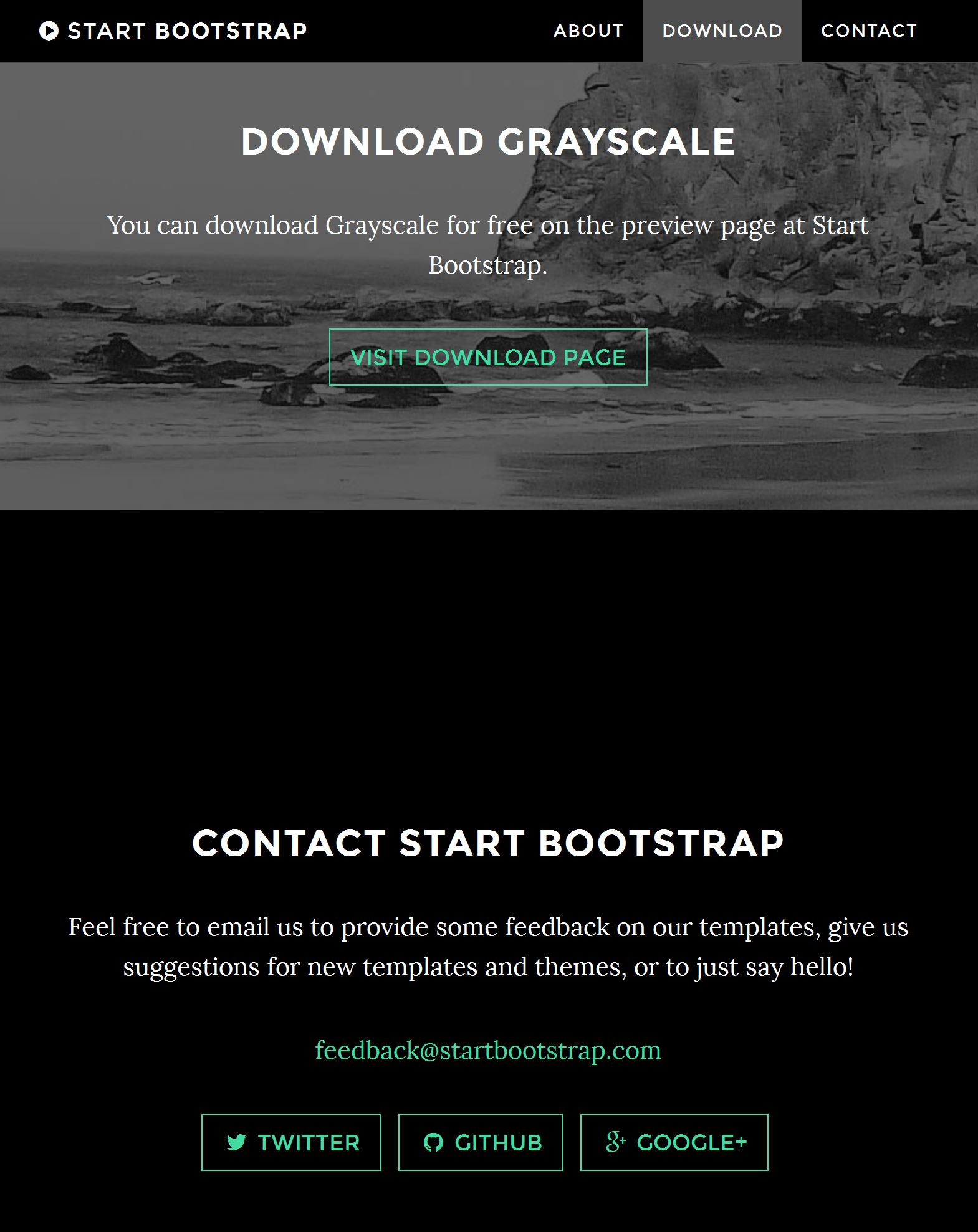 Bootstrap Gallery Template