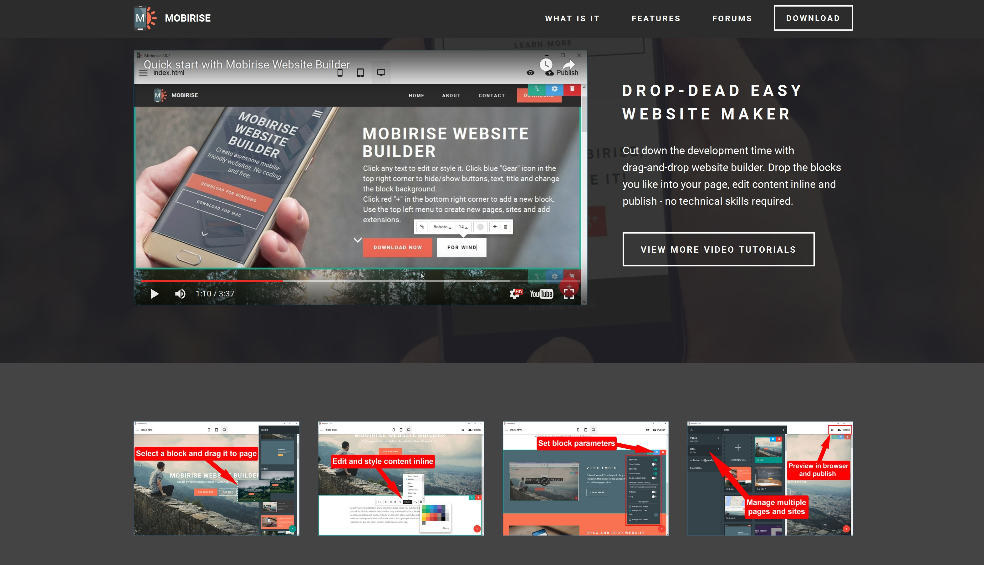 Best Mobile Website Maker