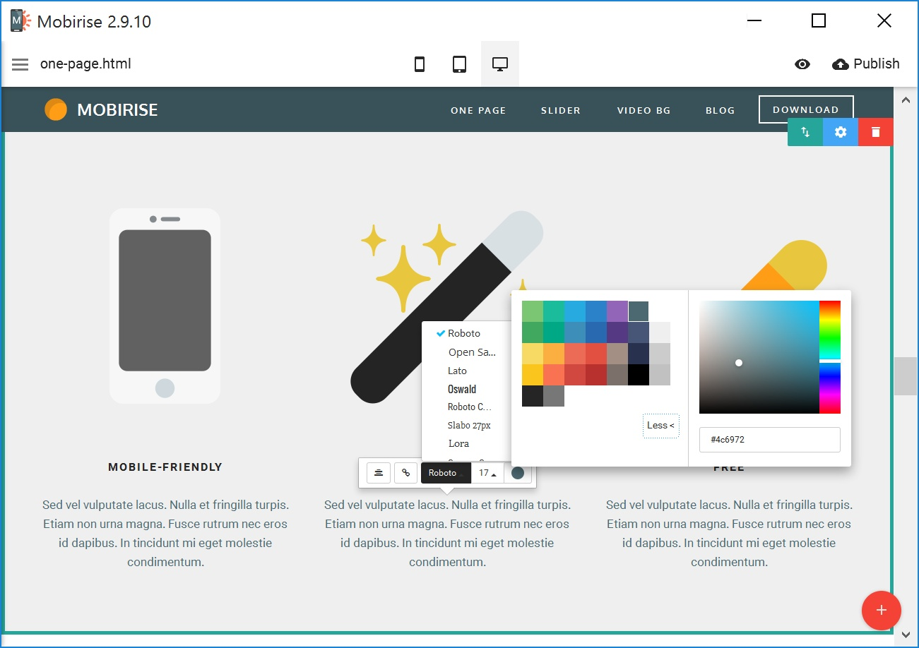 Drag and Drop Mobile Website Builder Review