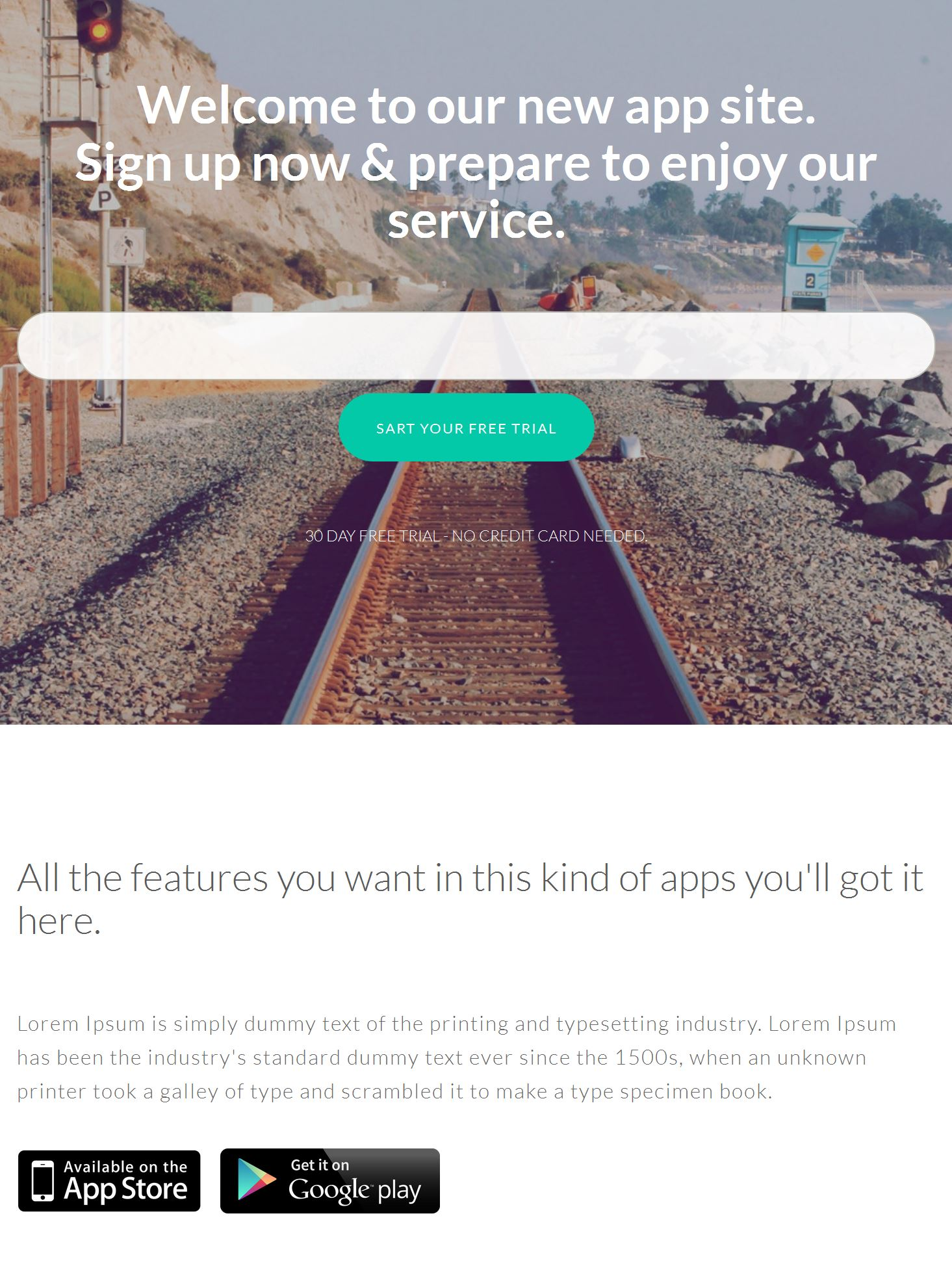 Bootstrap Portfolio Template Free