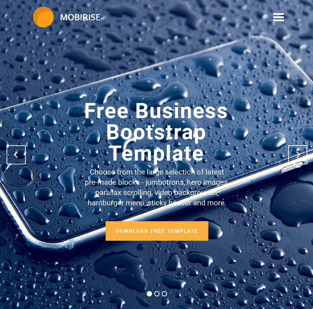Free Responsive Web Templates Themes Extensions