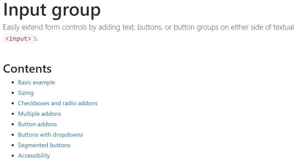 Bootstrap input  authoritative  information