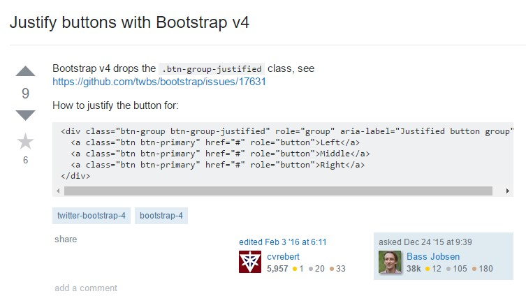 Sustain buttons  through Bootstrap v4