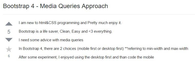 Bootstrap 4 - Media Queries  Practice
