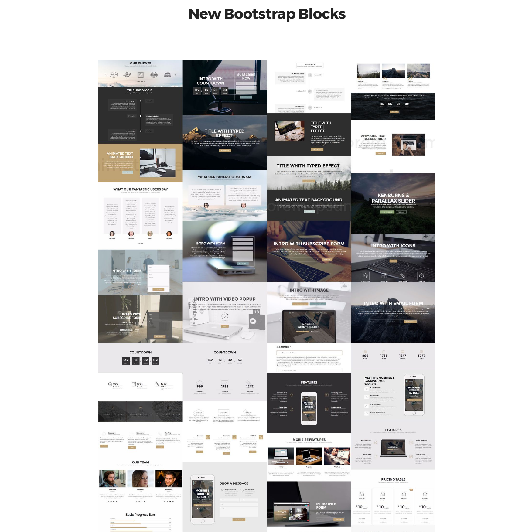 Free New Bootstrap Themes