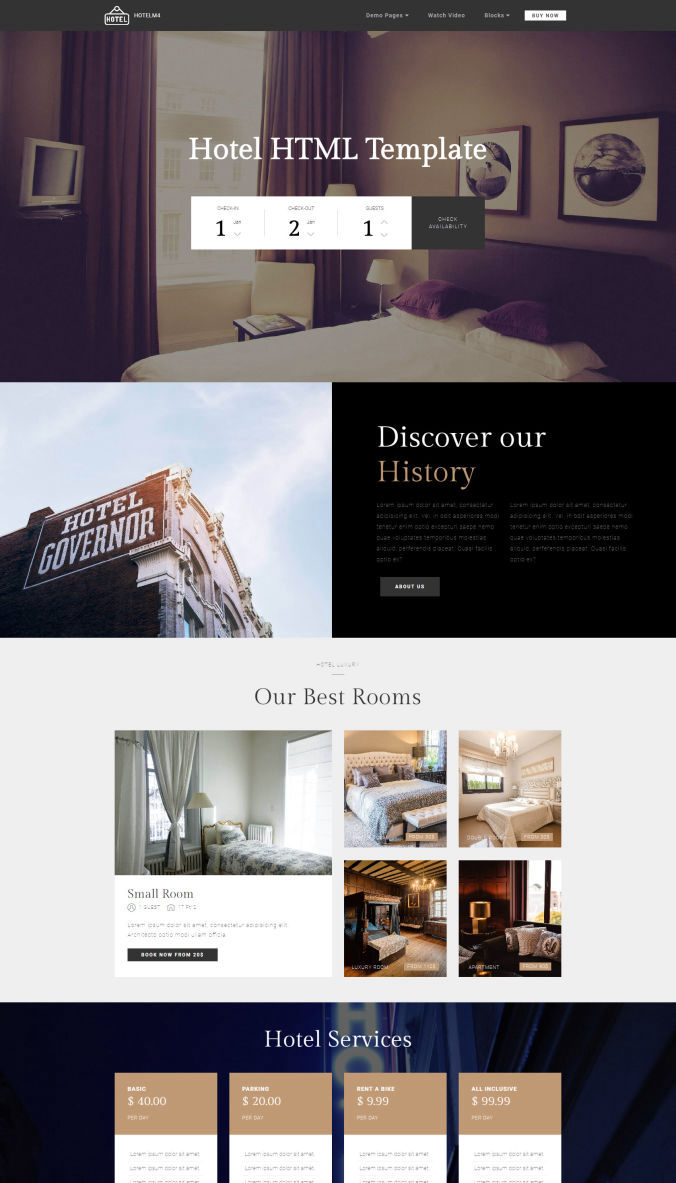 Sample Bootstrap Templates