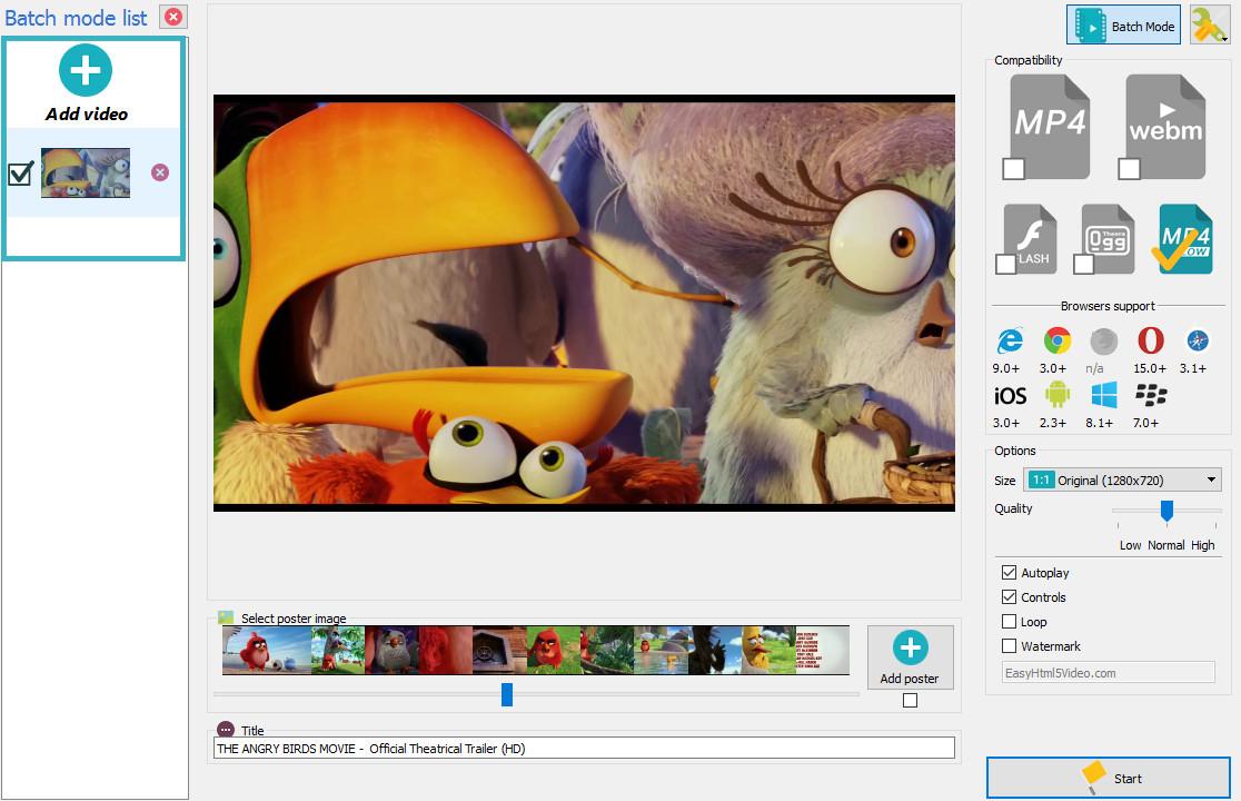 html5 video fullscreen
