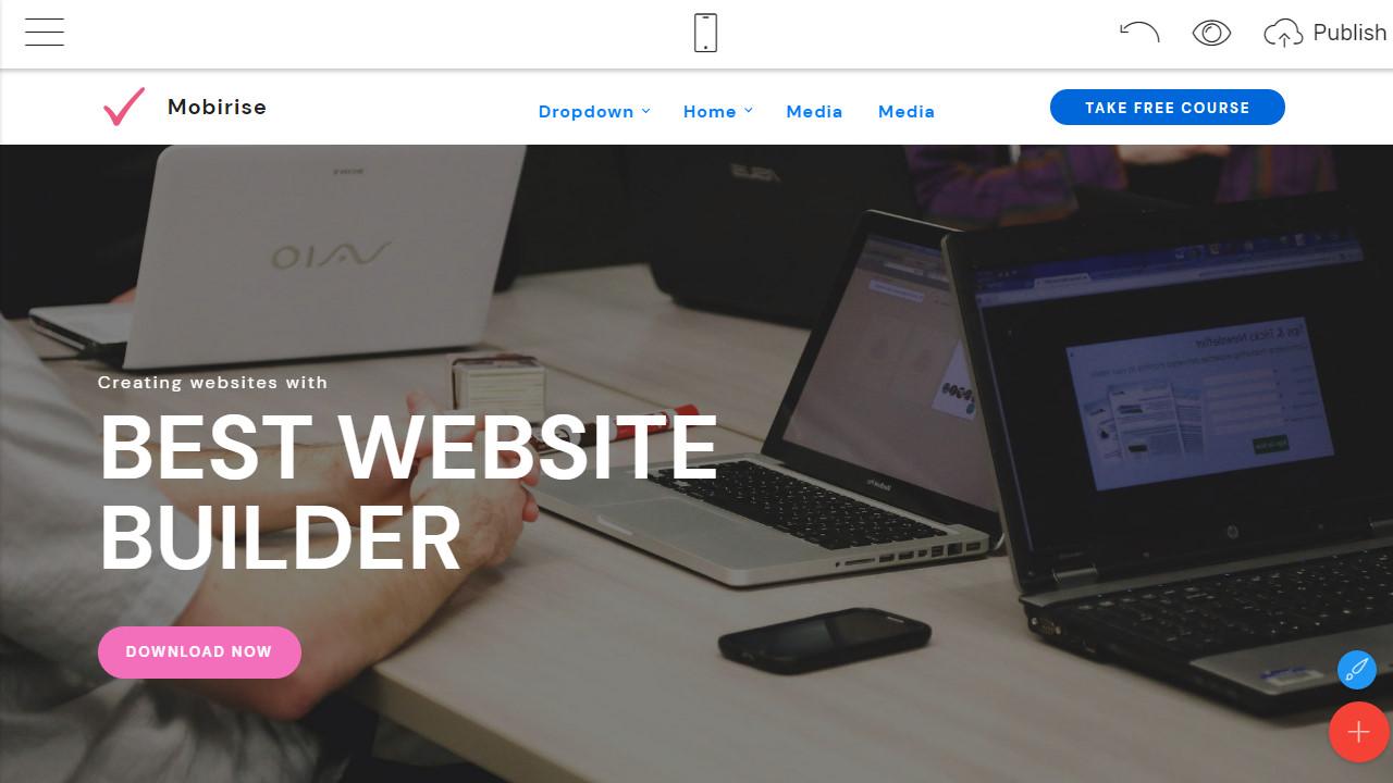 mobirise website